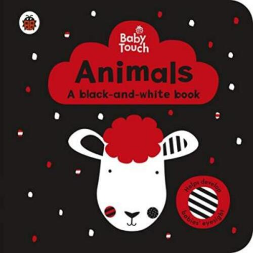 Baby Touch: Animals: a black-and-white book by Ladybird