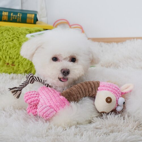 Animal Shaped Pet Chew Toy