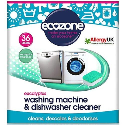 Ecozone Eucalyptus Washing Machine & Dishwasher Cleaner (36 tablets)