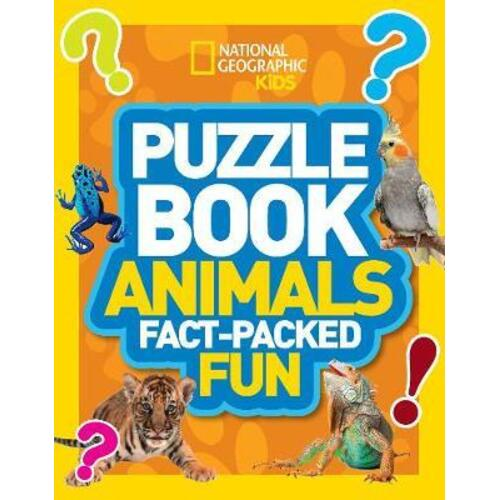 Puzzle Book Animals by National Geographic Kids