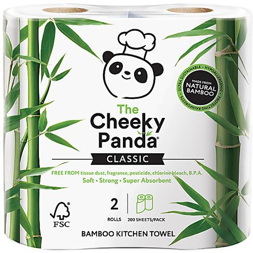 The Cheeky Panda Bamboo Kitchen Towel 2 rolls