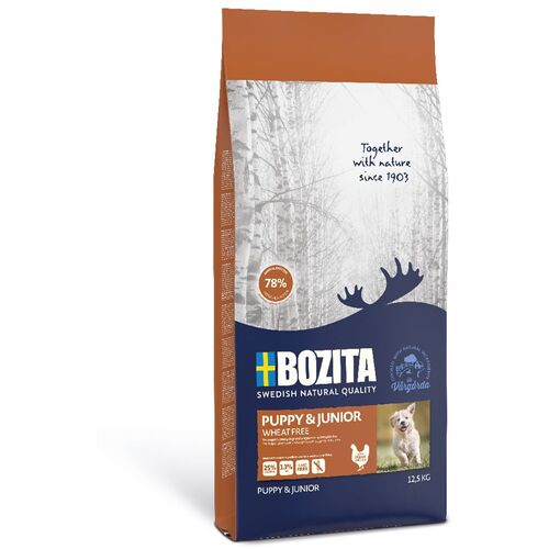 Bozita Puppy & Junior weizenfrei - 2 x 12,5 kg
