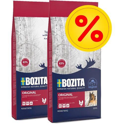 Sparpaket Bozita Trockenfutter - Original (2 x 12 kg)